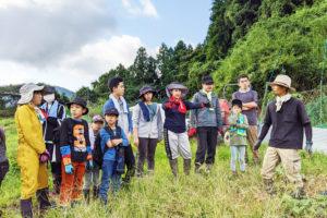 奈良農園へみんなで援農!② 子どももママも解放され、いきいきする!